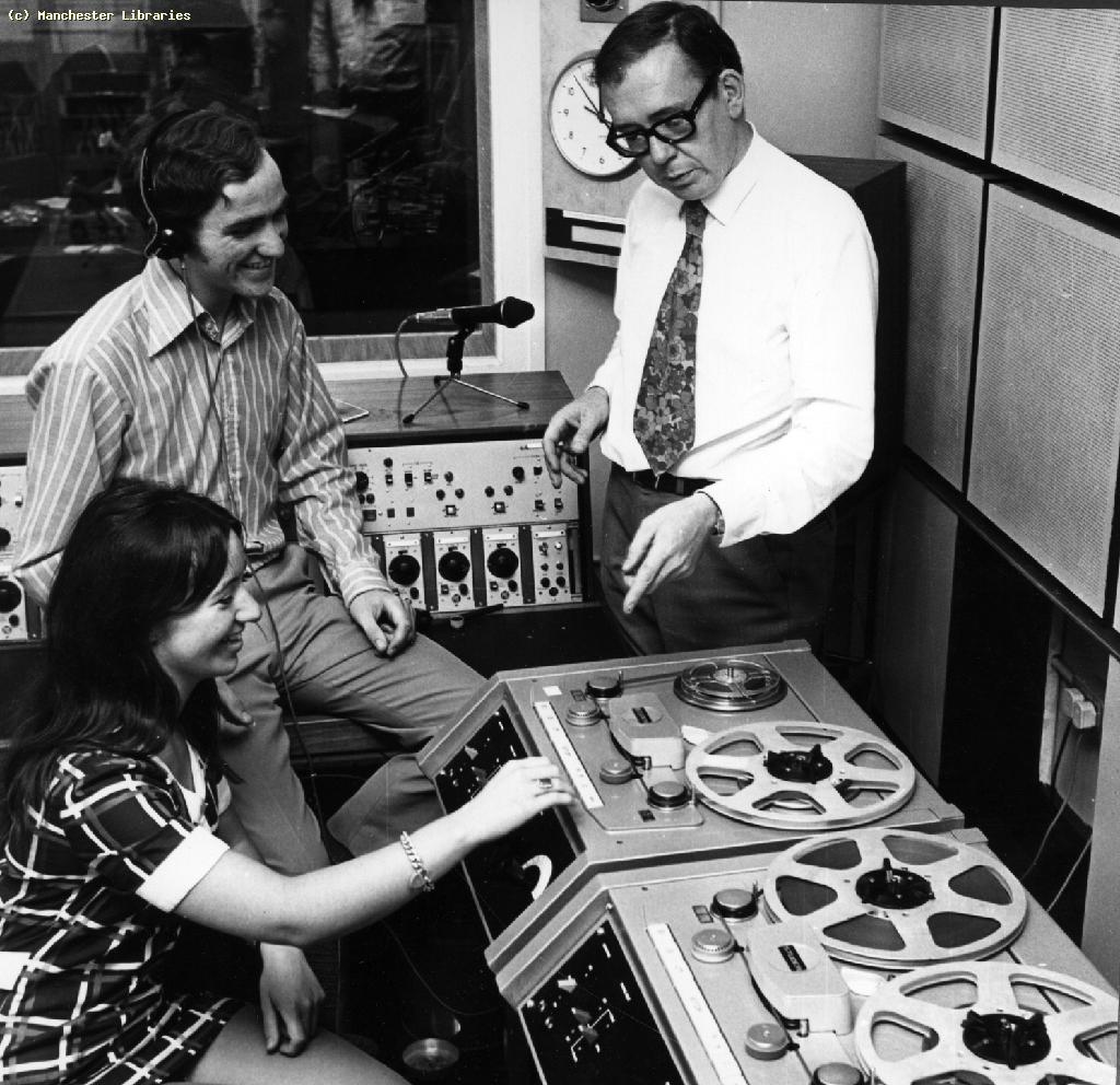 Operations Room, BBC Radio Manchester, 1970