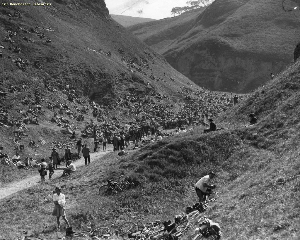 Ramblers Association Rally at Castleton, 1949