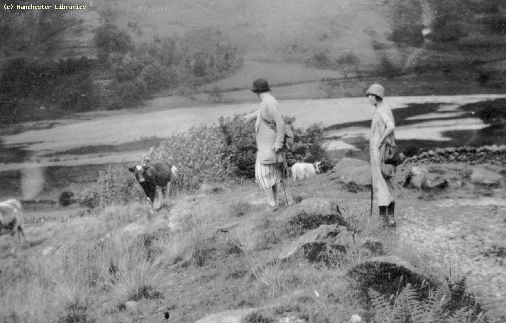 Two ladies rambling, 1929
